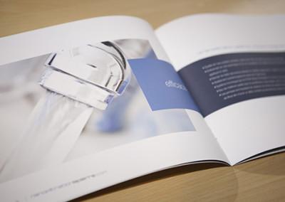 Conception graphique de la brochure Nanofiltration Lapierre