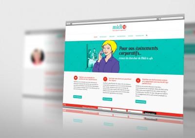 Nouveau site Web de Midi14