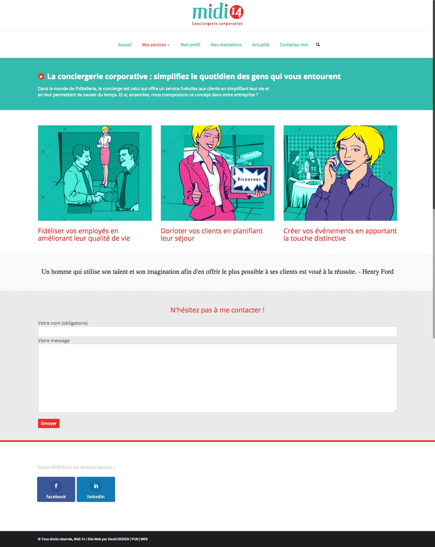 Page des services de Midi14.com