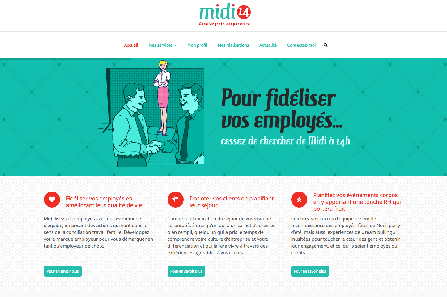 Page d'accueil Midi14.com