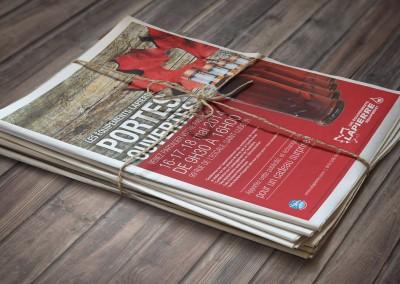 Les Équipements Lapierre publicité Portes Ouvertes 2014
